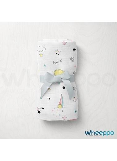 Wheeppo Kuyruklu Yıldız  Müslin Örtü  120*120 Cm Renkli